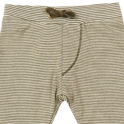 Kidscase Barry Organic Cotton Striped Jogging Bottoms-listing