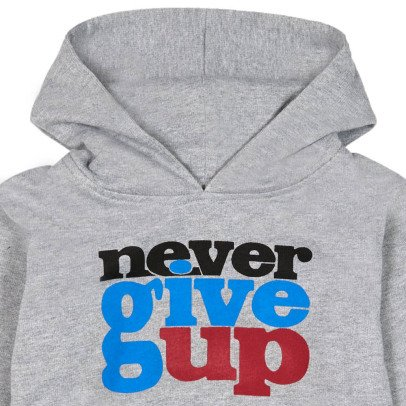 Bonton Sweat Capuche Never Give Up-listing
