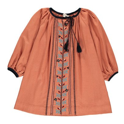 Caramel Lydford Embroidered Dress-listing