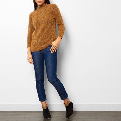 Sessun Hanau Embellished Roll Neck Jumper-listing