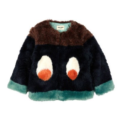 Bobo Choses Eyes Faux Fur Jacket-listing