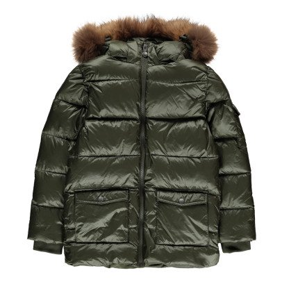 Pyrenex Mat Authentic Fur Down Jacket-listing