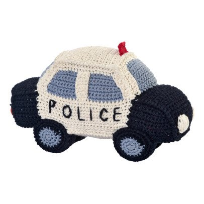 Anne-Claire Petit Hand Crochet Police Car-listing