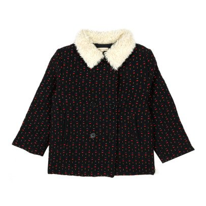Hundred Pieces Jacquard Coat-listing