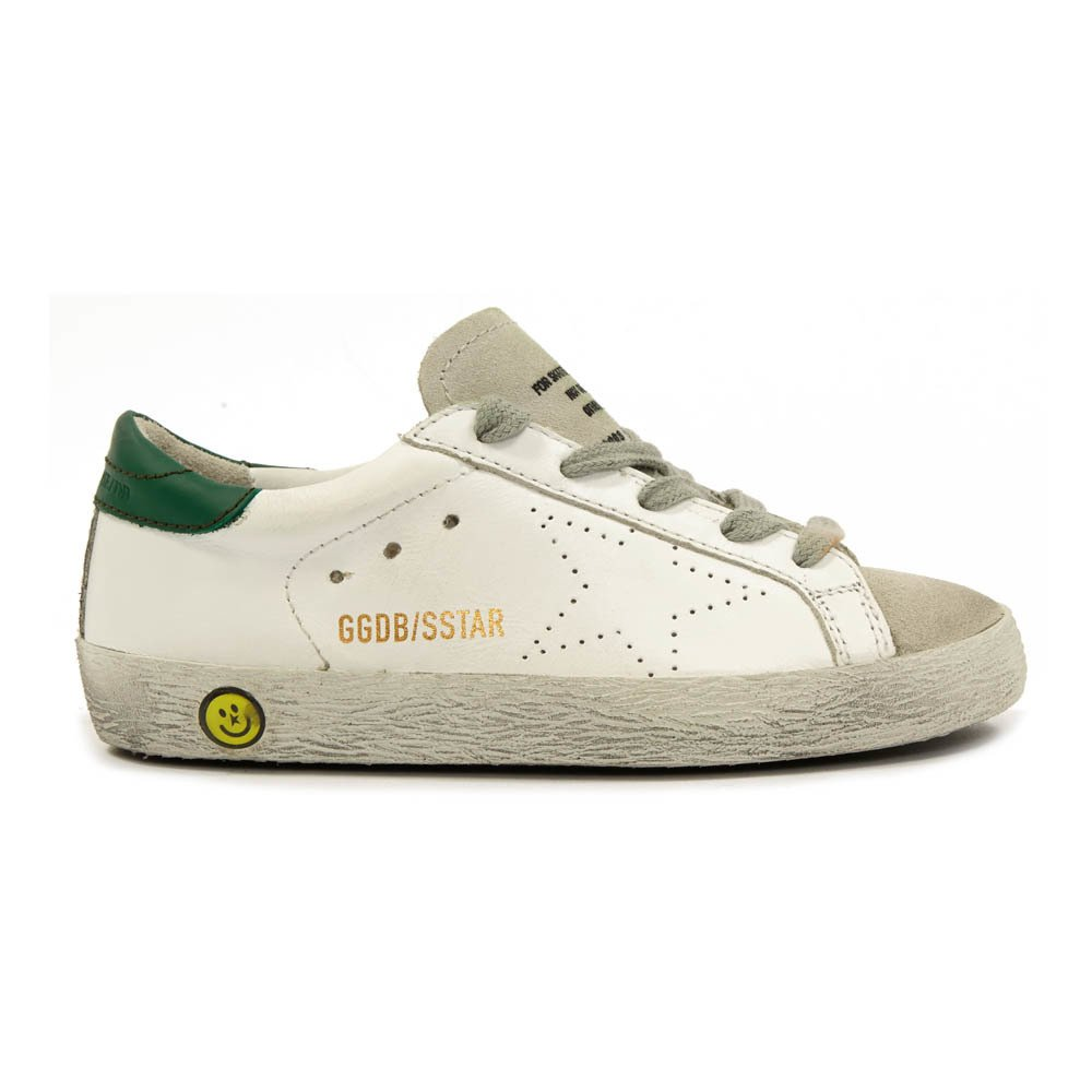Sale - Old Superstar Velcro Leather Sneakers - Golden Goose Deluxe Brand Golden Goose FJ7EXy5VIj