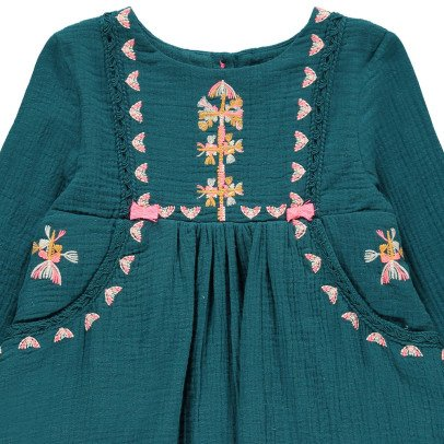Louise Misha Ellaba Embroidered Dress-listing