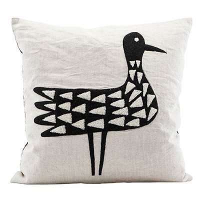 House Doctor Bird Cushion-listing