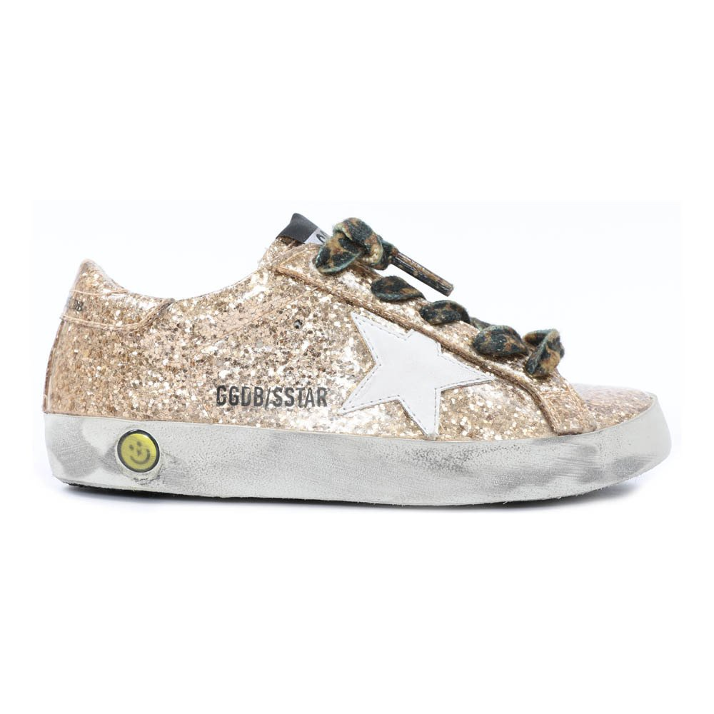 Baskets Basses Glitter Lacets Leopard Superstar-product
