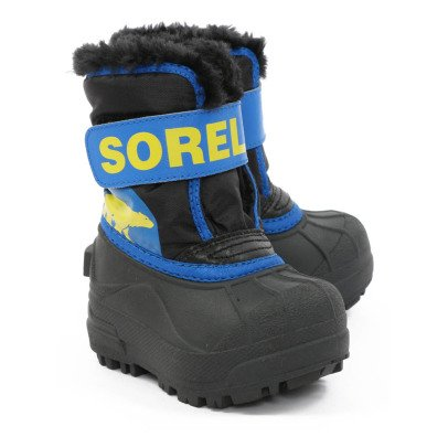 Sorel Snow Commander Fur Lined Boots-listing
