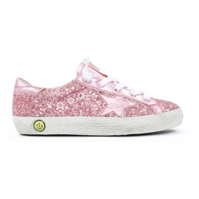 Golden Goose Superstar Star Glitter Trainers-listing