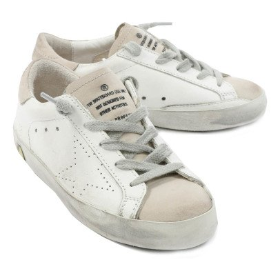 Golden Goose Baskets Cuir Superstar-listing