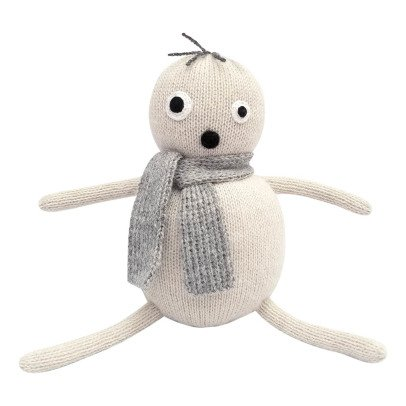 Lucky Boy Sunday Pop White Alpaca Wool Soft Toy-listing