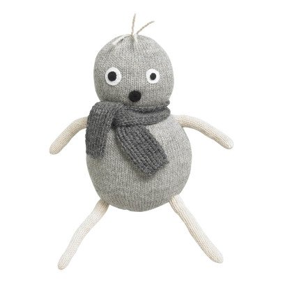 Lucky Boy Sunday Pop Grey Alpaca Wool Soft Toy-listing