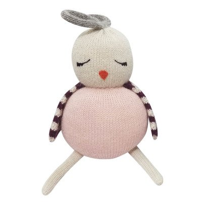 Lucky Boy Sunday Birdie Pink Alpaca Wool Soft Toy-listing