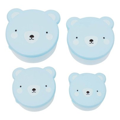 A little lovely company Lunch Box Ourson - Set de 4 boîtes-product