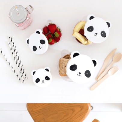 A little lovely company Lunch Box Panda - Set de 4 boîtes-listing