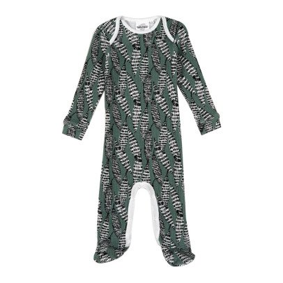 Moumout Bobo Dented Honeycomb Footed Pyjamas-product