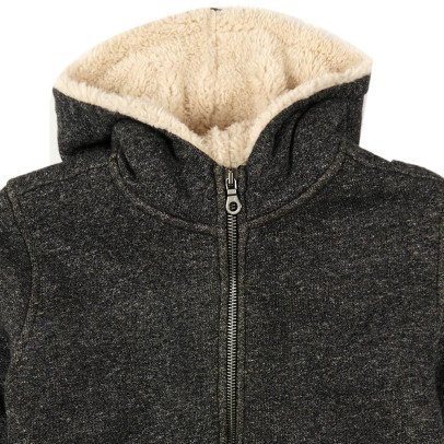 Finger in the nose Hooper Fur Lined Hoodie-listing