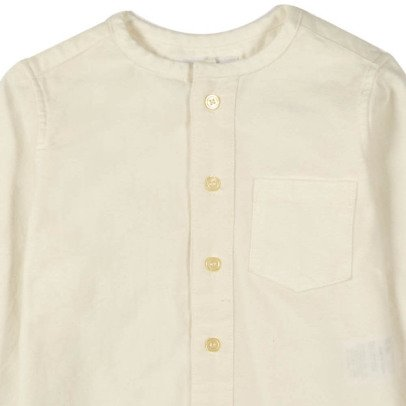 EAST END HIGHLANDERS Pocket Round Collar Shirt-listing