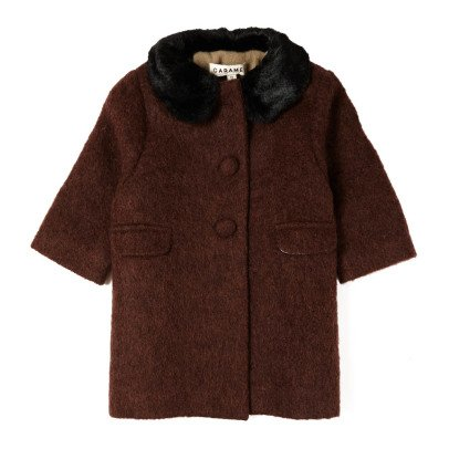 Caramel Middleton Wool Coat-listing