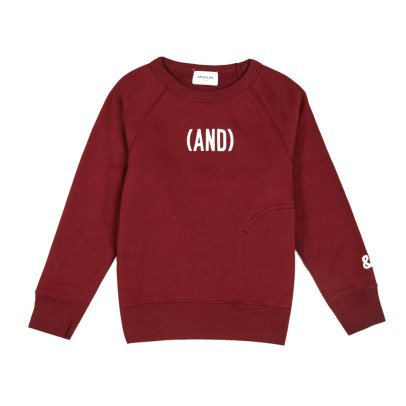 ARCH & LINE (And) Organic Cotton Sweatshirt-listing
