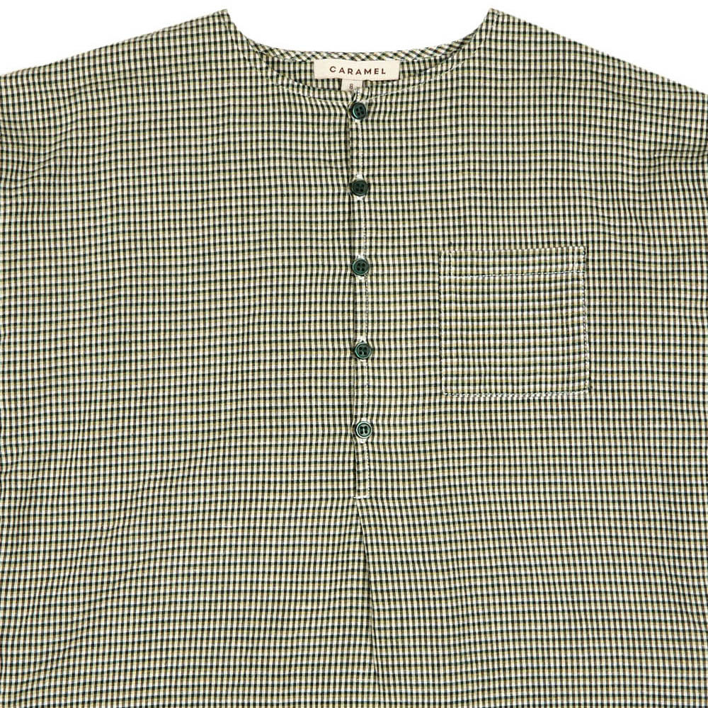 Castle Micro Checked Kurta-product