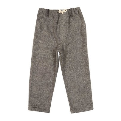 Nico Nico Act Flannel Trousers-listing