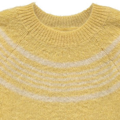 MAAN Maud Striped Mohair & Wool Jumper-listing
