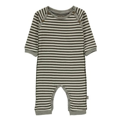 Kidscase Barry Organic Cotton Striped Jumpsuit-listing