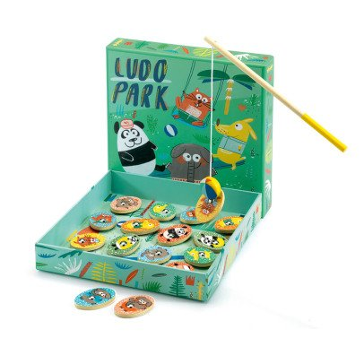 Djeco Ludopark First Learning - Set of 4 Games-listing