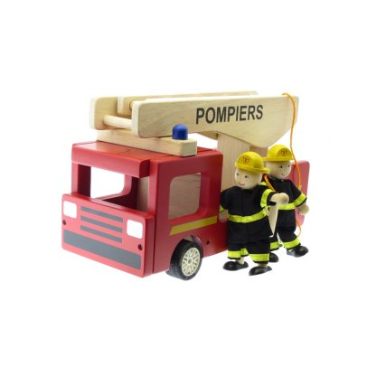 Bass & Bass Wooden Fire Engine-listing