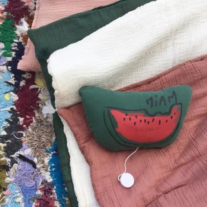 Annabel Kern Watermelon Musical Cushion-listing