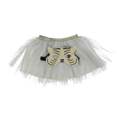 Obi Obi Tiger Mask and Mesh Tutu Dressing Up Set-listing