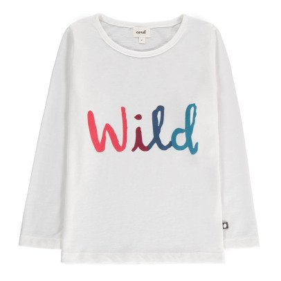 Oeuf NYC Exclusive Œuf x Smallable Wild Organic Cotton T-Shirt-listing