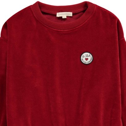 Hundred Pieces Le Club Velvet Sweatshirt-product