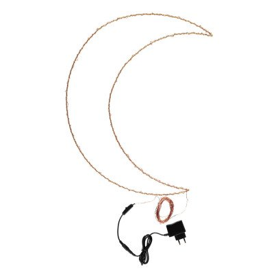 Zoé Rumeau Moon-shaped light-listing