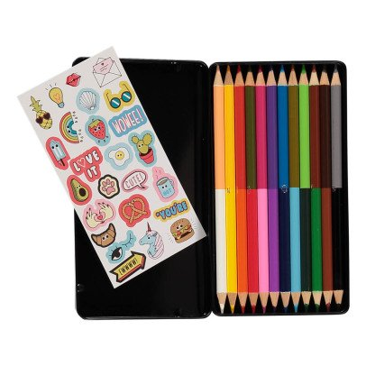 Smallable Toys Colouring Pencils and Stickers-listing