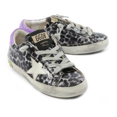 Golden Goose Two-Tone Zebra Trainers-listing