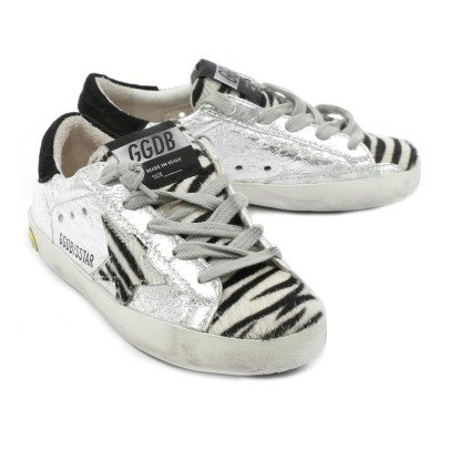 Golden Goose Lace-Up Superstar Trainers-listing