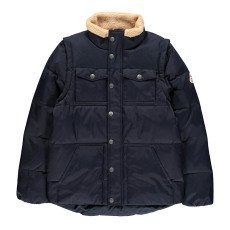 product-Pyrenex Thibault Faux Sheepskin Collar Jacket