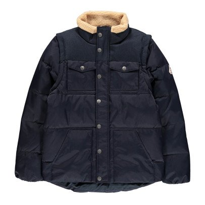 Pyrenex Thibault Faux Sheepskin Collar Jacket-product