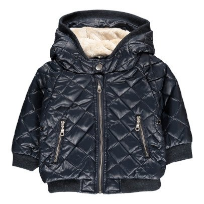Kidscase Jerry Fur Lined Quilted Down Jacket-listing