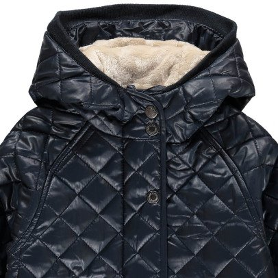 Kidscase Jerry Fur Lined Quilted Coat-listing
