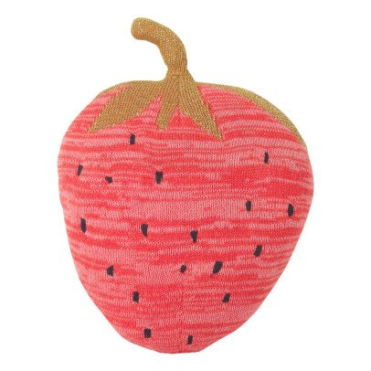 Ferm Living Kids Fruiticana Strawberry Cushion-listing