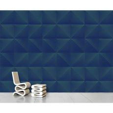 papier peint lines bleu nuit ferm living design adulte. Black Bedroom Furniture Sets. Home Design Ideas