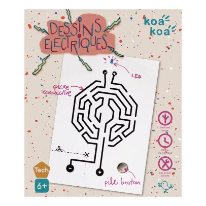 Koa Koa Construction Game - Electronic Circuit-listing