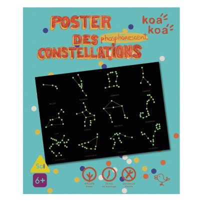 Koa Koa Phosphorescent Colouring - Constellations-listing