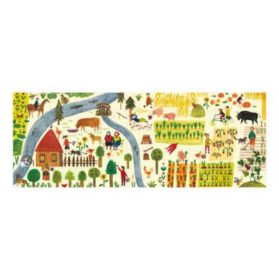 Londji The Farm Puzzle - 100 Pieces-listing