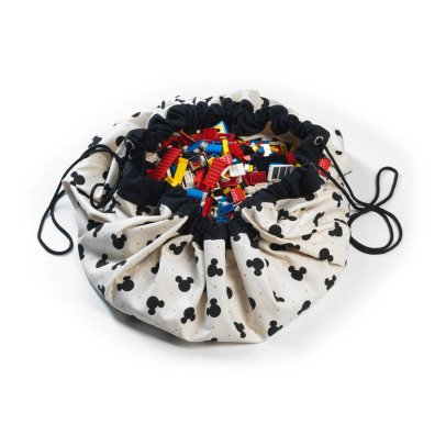 Play and Go Borsa/Tappeto Gioco - Mickey Black-listing