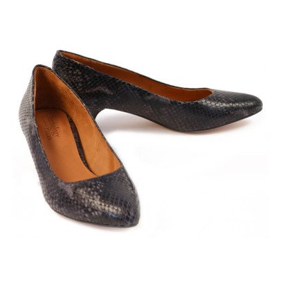 Anthology Paris Ida Snake Court Shoes-listing